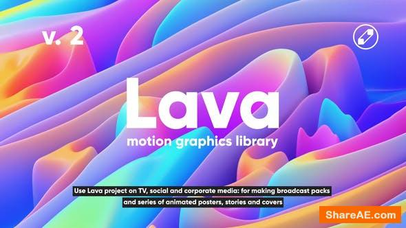 Videohive Lava | Social Media Pack