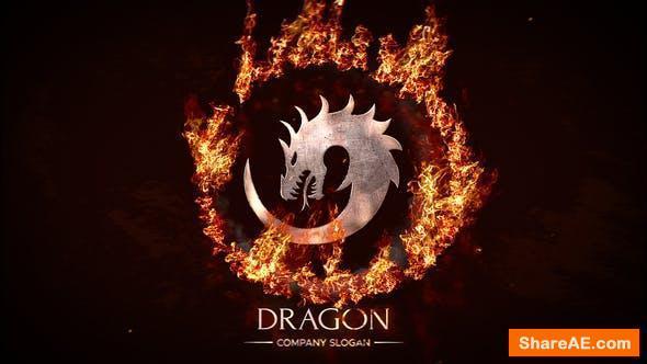 Videohive Circle Fire Logo
