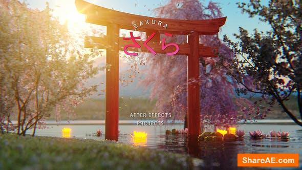 Videohive Sakura - Japan Opener