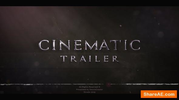Videohive Blockbuster Trailer Titles