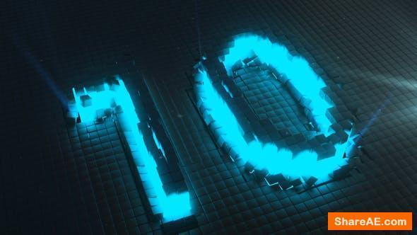 Videohive Neon Countdown