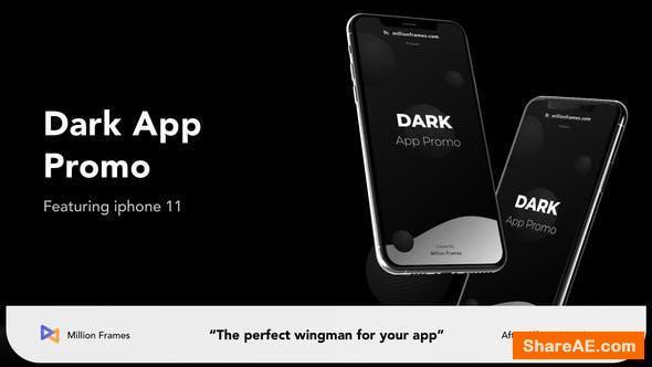 Videohive Dark App Promo