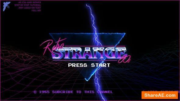 Videohive 80s Retro Logo