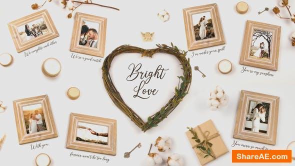 Videohive Bright Love