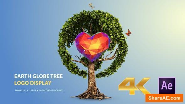 Videohive Earth Globe Tree (Logo Display)