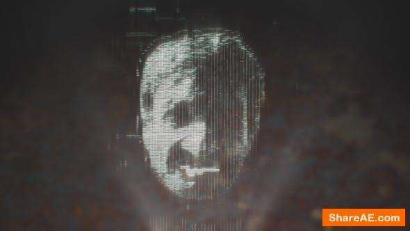 Videohive Holographic Face