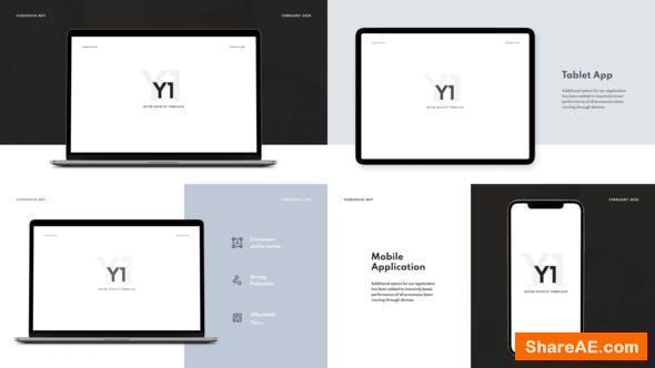 Videohive Y1 - Website Promo