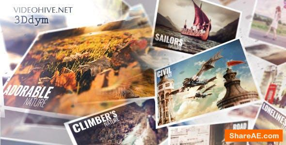 Videohive Flying Slideshow