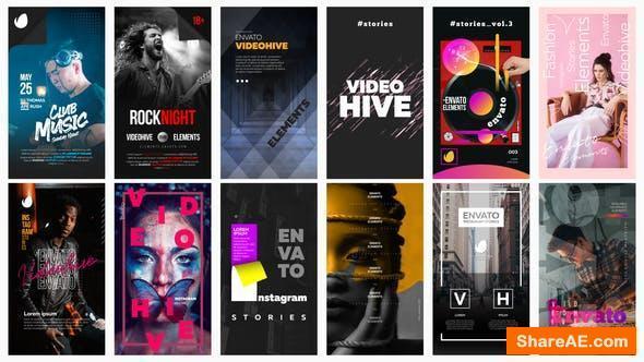Videohive 12 Instagram Stories Vol. 3
