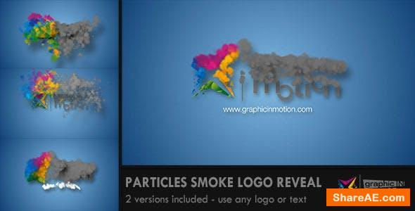 Videohive Particles Smoke Logo Reveal