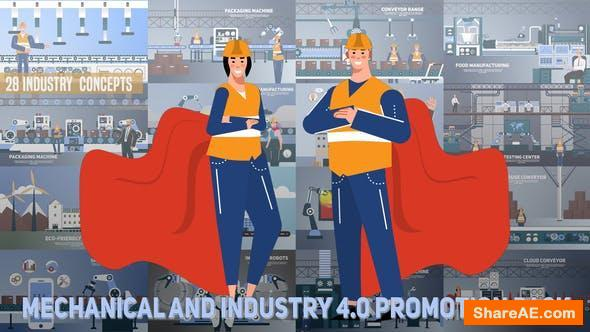 Videohive Mechanical and Industry 4_0 Promotion Pack