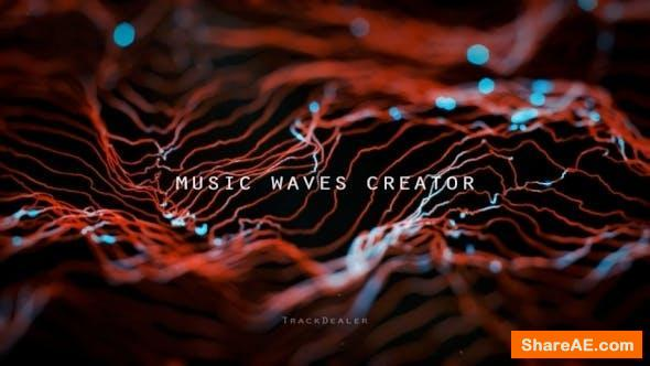 Videohive Music Waves Creator v1.1