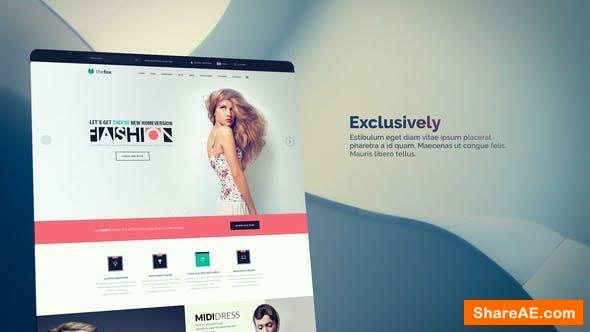 Videohive Project Web | Collection Slides For Promo