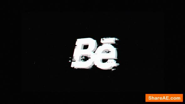 Videohive Glitch Distortion Logo 25848010