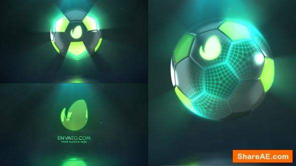 Videohive Hi-Tech Soccer   Logo Reveal
