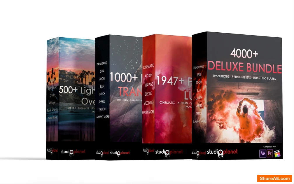4000+ Deluxe Bundle Collection | Premiere Pro & Final Cut