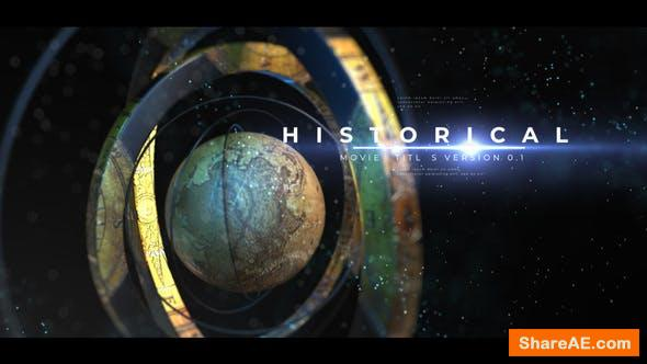Videohive Historical Opener Titles