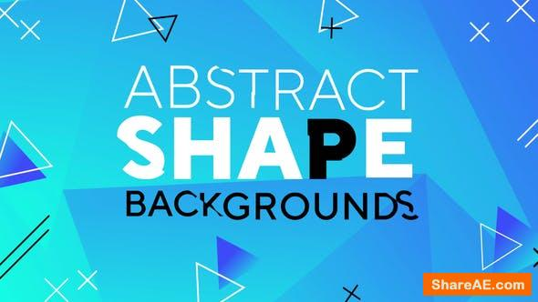 Videohive Abstract Shape Backgrounds