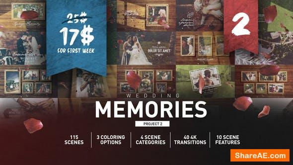 Videohive Wedding Memories Slideshow