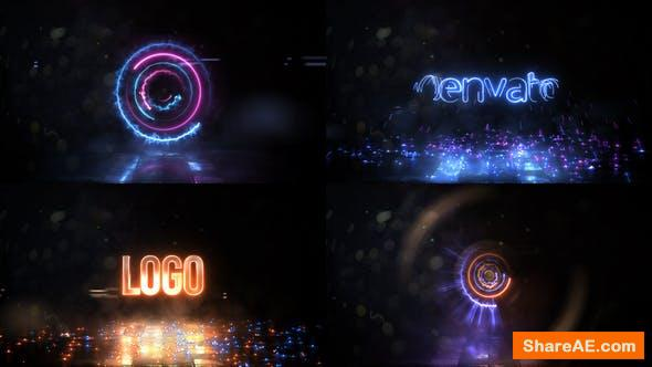 Videohive High Speed Spinning Energy Logo