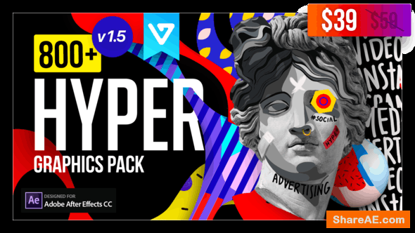Videohive Hyper - Graphics Pack