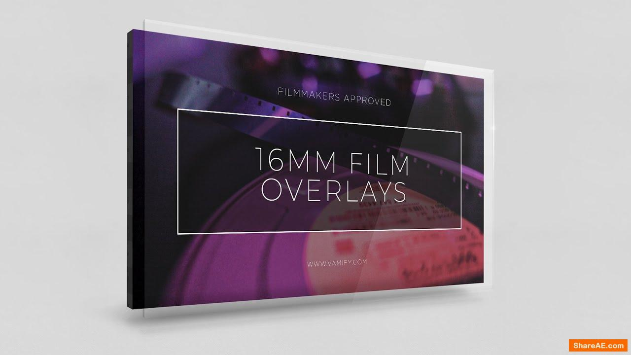 16 mm Film Overlays - Vamify