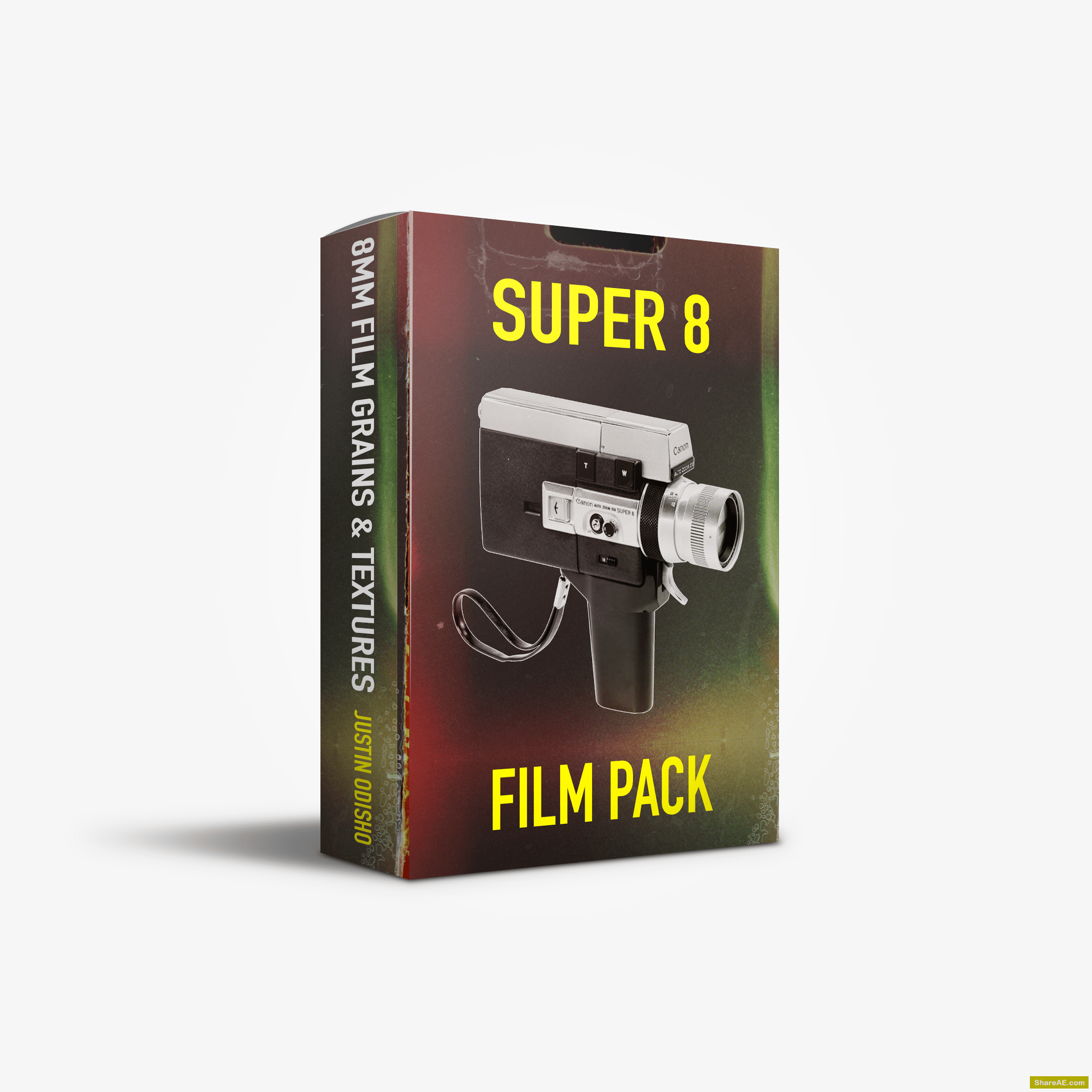 Super 8 Film Overlays Pack - Justin Odisho