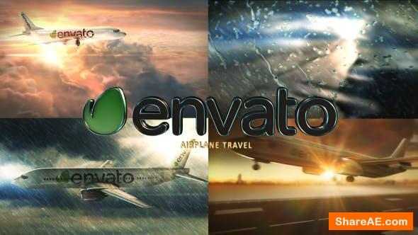 Videohive Airplane Travel