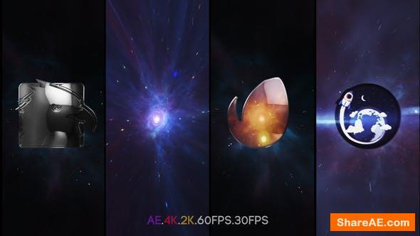 Videohive Space Vortex Logo Intro