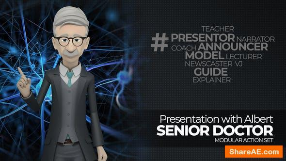 Videohive Presentation With Albert: Senior Doctor