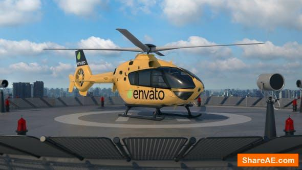 Videohive Helicopter 3D Logo