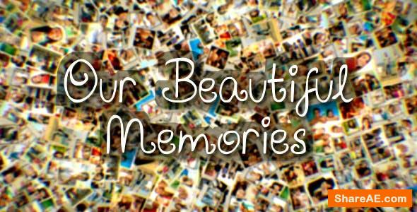 Videohive Our Beautiful Memories