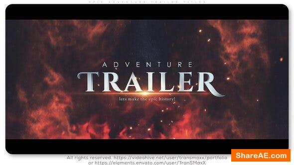 Videohive Epic Adventure Trailer Titles