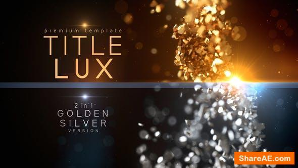 Videohive Title Lux