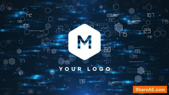 Videohive Tech Logo Reveal 25975900