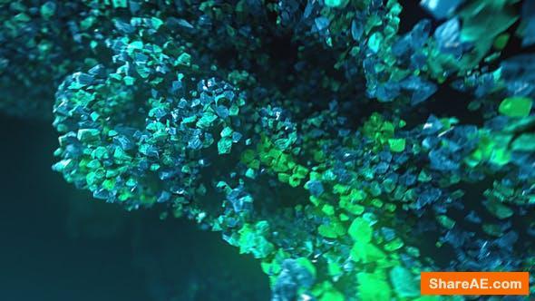 Videohive Underwater Rocks