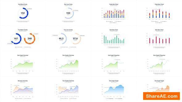 Videohive Infographics Charts Pack 2