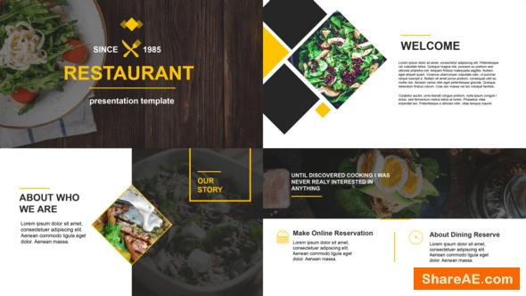 Videohive Restaurant Presentation