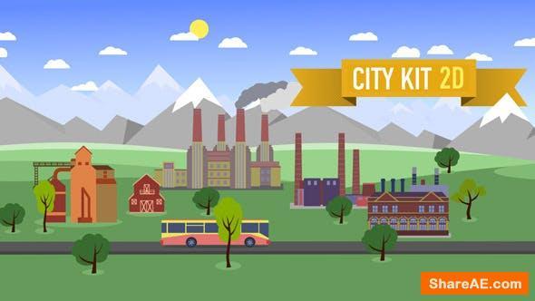 Videohive City Kit 2D