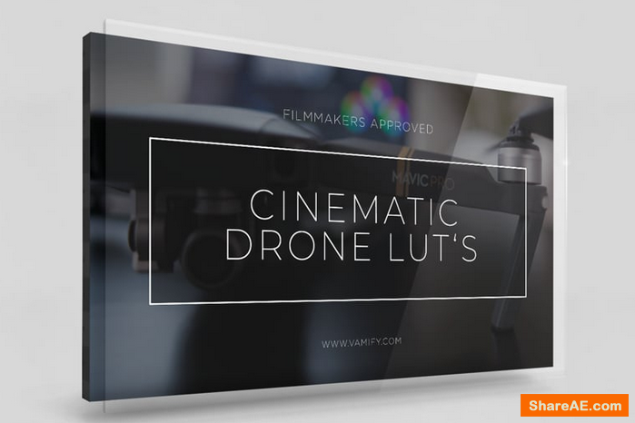 Cinematic Drone Luts - Vamify