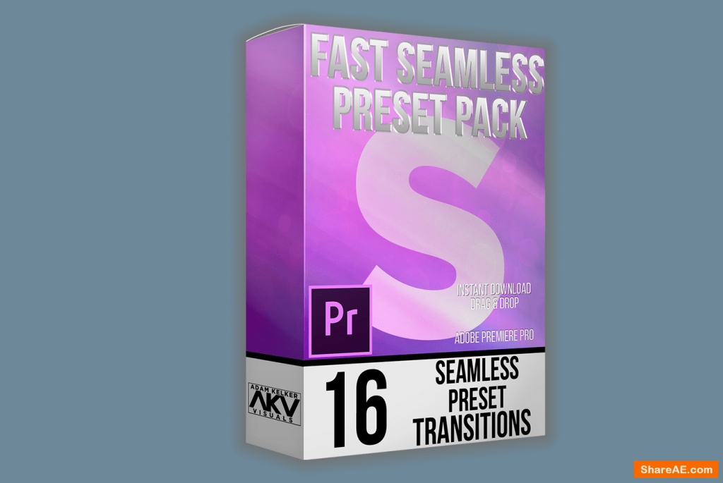 Fast Seamless Transition Pack – Akvstudios