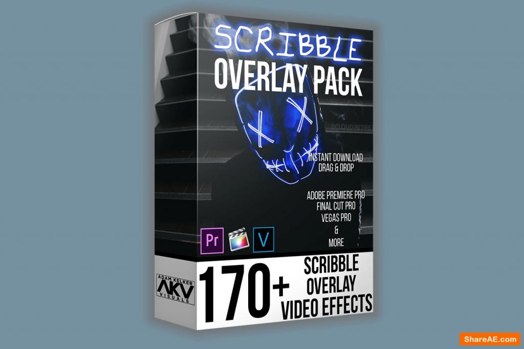 Scribble Overlay Effect Pack – Akvstudios
