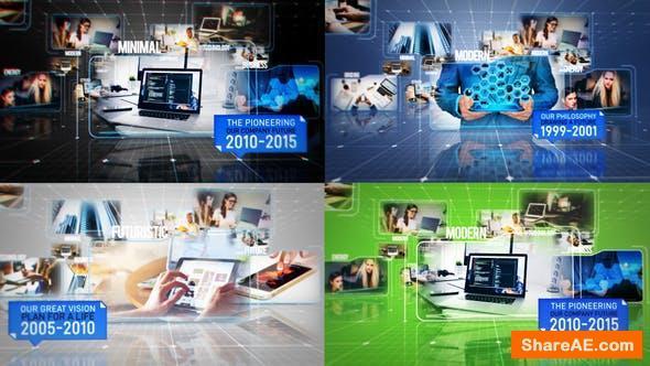 Videohive Business Hi-Tech Slideshow Promo