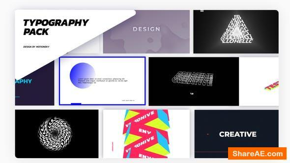 Videohive Brand New Titles