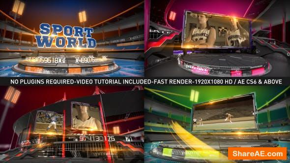 Videohive Action Sports Broadcast Opening Intro