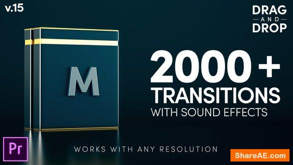 Videohive Modern Transitions v15 | For Premiere PRO