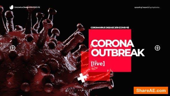 Videohive Corona Virus Intro Opener