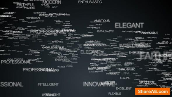 Words Reveal - After Effects Project (Videohive)