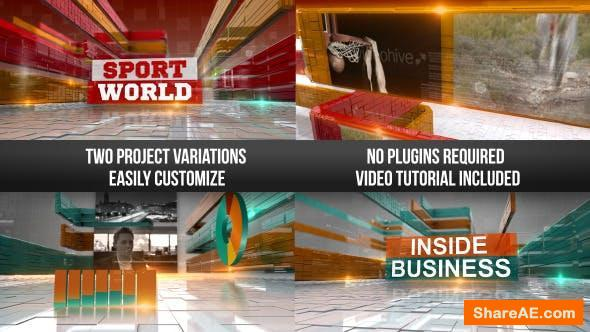 Videohive Corporate Business & Sports Show Intro