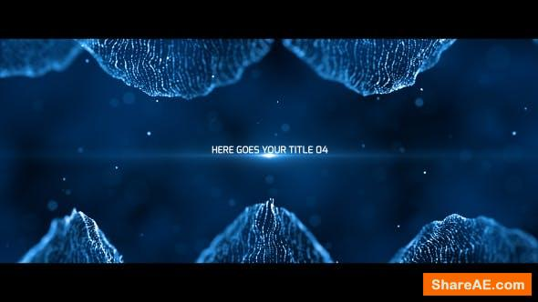 Videohive Particles Titles